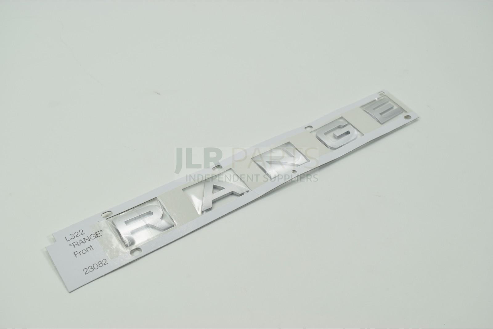 name plate lr008141