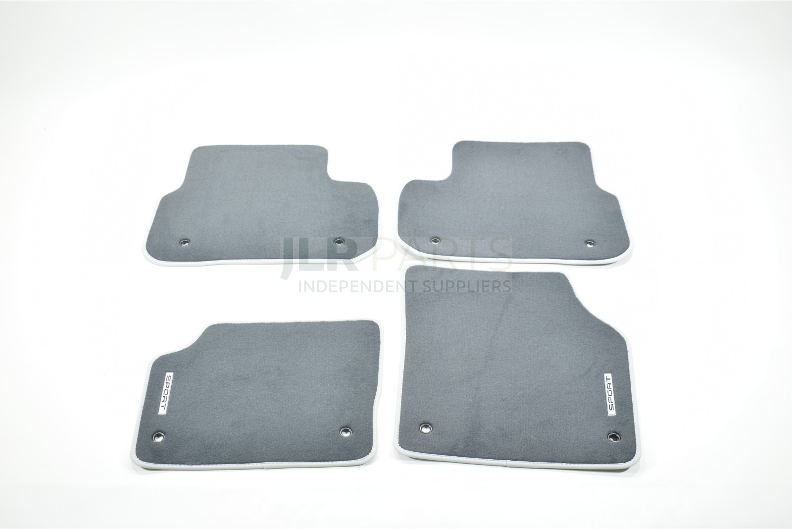 Land Rover Discovery Sport LHD Ebony Black Carpet Cirrus Leather Edging LR059543